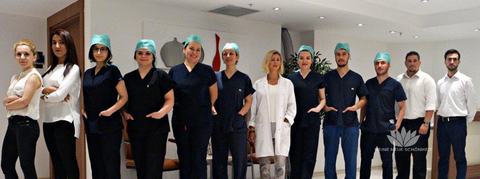 Ärzteteam Haartransplantation,  Istanbul Surgery Hospital