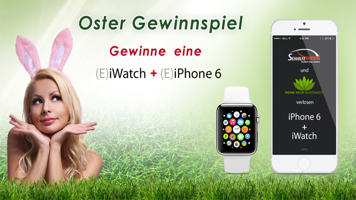 ostergewinnspiel iwatch und iphone6 gewinnen. Black Bedroom Furniture Sets. Home Design Ideas